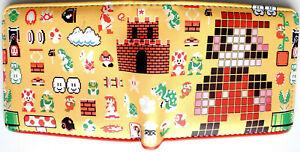 Super-Mario-Bros-Luigi-Wallet-Geldboerse-ID-Fenster-Zip-Coin-Pocket-Card-2-Stile