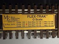 O-scale Micro-engineering Flex-track Code 125 Non Wea 10-130