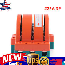 3 Pole Circuit Breaker Double Throw Disconnect Knife Switch 225a Safety Us Stock