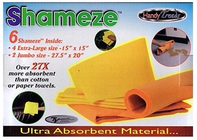 WorldCollection2013 Shameze Ultra Absorbent Towels 6 Towels Total
