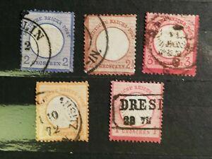 German-Stamps-Germany-1872