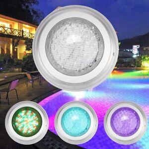 Details zu RGB LED 35W Schwimmbad Becken Leuchtmittel Strahler Pool  Scheinwerfer IP68 Lampe