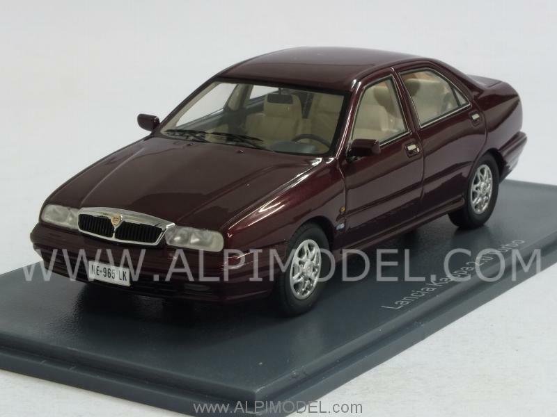 Lancia Kappa 2.0 Turbo 1994 Metallic Dark rojo 1 43 NEO 44965