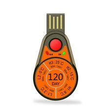I dati di temperatura REGISTRATORE MONOUSO rc-55 relazione automatica, nessun software necessario
