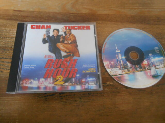 CD OST Lalo Schifrin - Rush Hour 2 (13 Song) VARESE SARABANDE jc