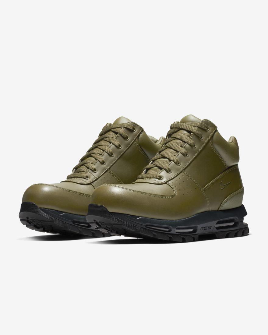 Nike ACG Air Max Goadome Boots (865031-303) Olive Canvas Anthracite  Sz 10.5