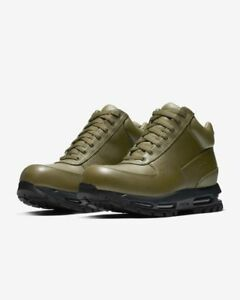 1b0f9596eb3 Details about Nike ACG Air Max Goadome Boots (865031-303) Olive  Canvas/Anthracite Sz 9