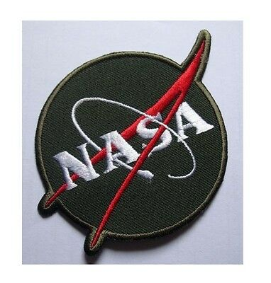 #3 NASA SPACE PROGRAM DISCOVERY Embroidered Iron on Patch + Free Shipping