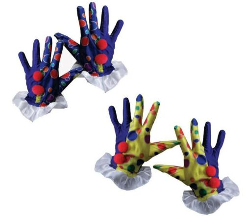 Clown Gloves By Dress Up America