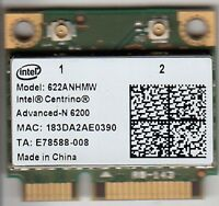 INTEL CENTRINO 622AN.HMWWB ADVANCED-N 6200 MINI-PCIE WIFI NETWORK CARD - NEW