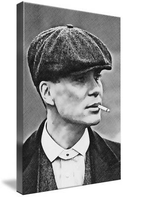 Peaky Blinders Tommy Shelby A4 Print