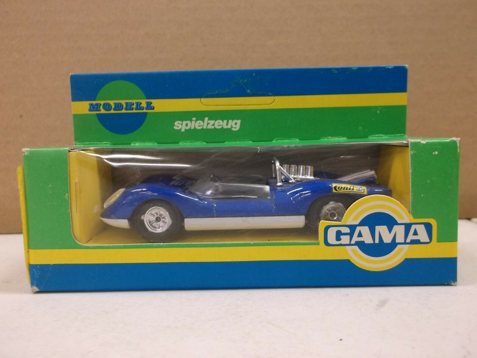 Gama   9603 1 43 skala   2 ford gt 40 in blau