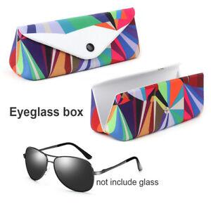 Mode-Etui-a-lunettes-unisexe-etui-a-lunettes-etui-de-rangement-colore-Nouveau
