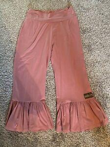 Womens-Matilda-Jane-Ruffle-Pants-Pink-Medium