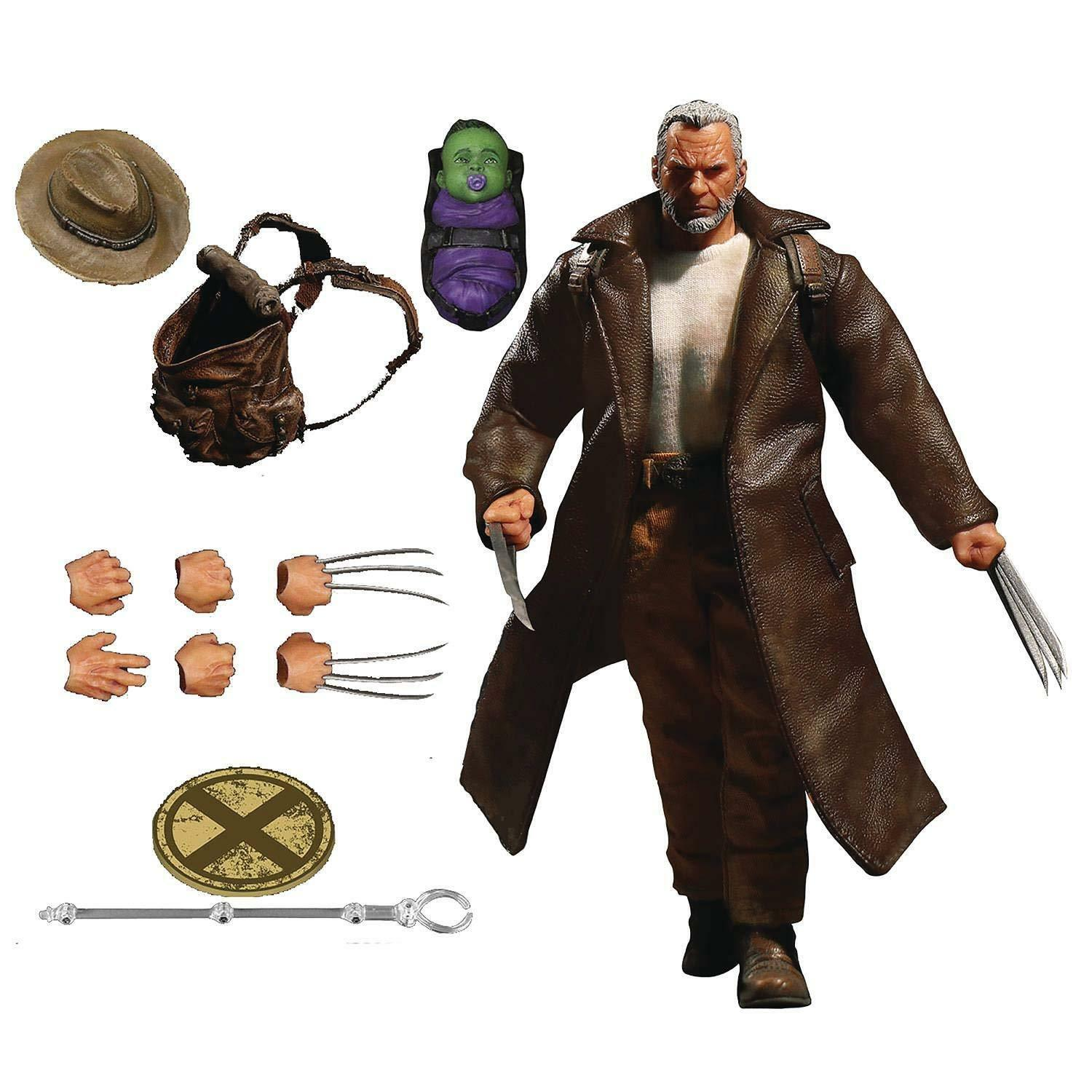 ACTION FIGURES - Old Man Logan - One  12 Collective - Mezco Toyz - NEW  NSF3