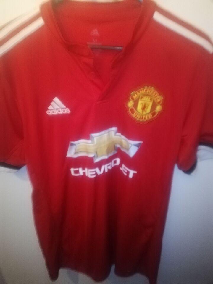 Fodboldtrøje, Paul Pogba manchester united trøje, Adidas