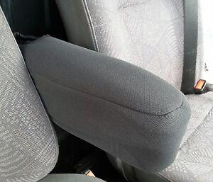 2+1 Grau Premium Gepolsterte Sitzbezüg für Renault Master Trafic Mercedes Benz