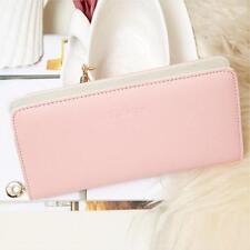 Women Clutch Purse Wallet Bifold Card Holder Organizer Handbag Bag Envelope N1