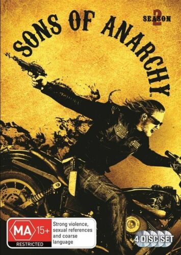 1 of 1 - Sons Of Anarchy : Season 2...REG 4..NEW & SEALED   dvd1407