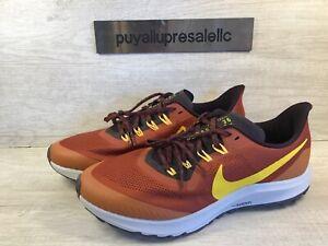 Men-s-Nike-Air-Zoom-Pegasus-36-Trail-Rugged-Orange-AR5677-800-Size-11-5