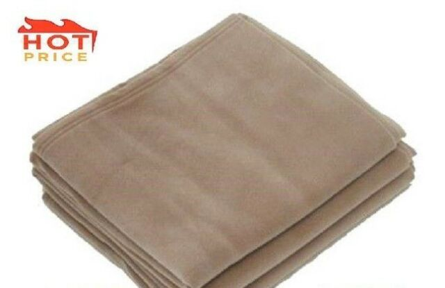 1 Polar Fleece NEW Vellux Blanket Super Warm And Plush SOFT Tan KING SIZE