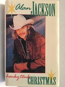 ALAN JACKSON HONKY TONK CHRISTMAS cassette +bonus CD Alison Krauss Keith Whitley 46633655422 | eBay