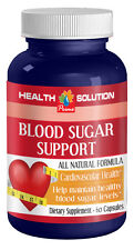 Blood Sugar Support Dietary Supplement. Cardiovascular Health  (1 Bottle)
