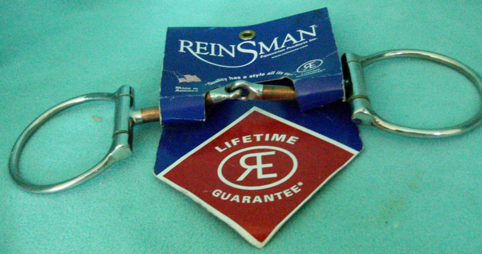 New Reinsman Off Set Dee Copper Snaffle  Horse Bit   TS225  wholesale price and reliable quality