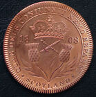 1808 Scotland Retro Pattern Proof Crown Copper George III Coin