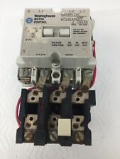 WESTINGHOUSE SIZE 1 MOTOR STARTER CAT# A200M1CAC 120VCOIL 3PH 600V 10HP