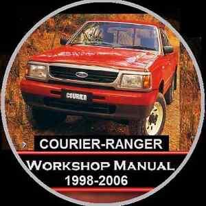 courier ranger 1998 2006 pd pe pg model workshop manu