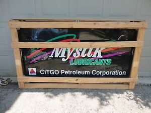 New In Factory Crate 77x45x15 Mystik Lubricants Citgo Petroleum