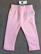 BABY GAP PALE PINK SWEATPANTS WITH SMALL WHITE LOGO ON LEFT LEG - 12-18m BNWT