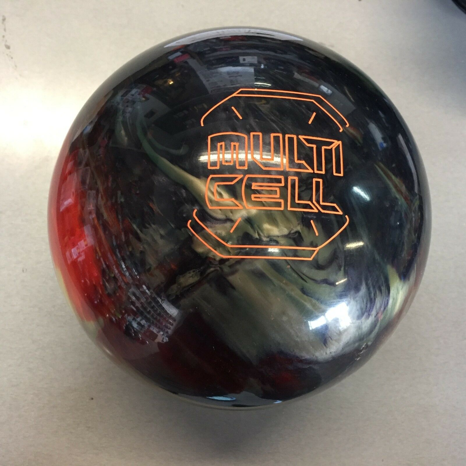 redO GRIP MULTI CELL 1ST QUALITY   bowling  ball 16   LB.   NEW IN BOX