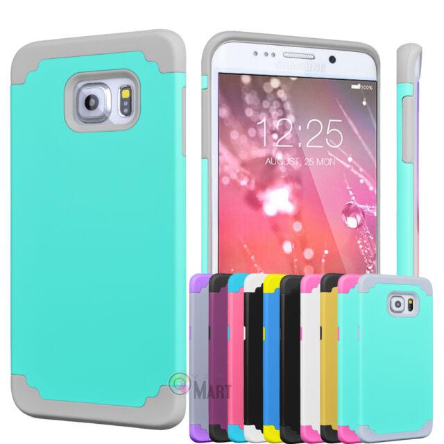 Slim Shockproof Rugged Hybrid Rubber Hard Cover Case Skin For Samsung Galaxy