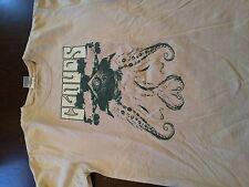 Rare CLOUDS Octopus Indie Rock Band Vintage T Shirt (M) Red Eye Jesus Jones