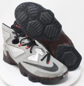 best loved d4e5d 7215c Image is loading Men-039-s-Nike-Lebron-XIII-13-Metallic-