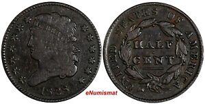US-Copper-1828-Classic-Head-Half-Cent-1-2-c