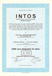 INTOS-International-Office-Suppliers-SA-accion-1974-Siege-Saint-Gilles