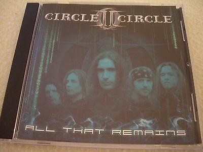 CIRCLE II CIRCLE - All that Remains - 5 Track CD AFM Rec. 2005 NM