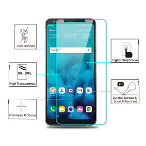 For LG Stylo 4 / Q Stylus V35 G8/7 9H Real Tempered Glass Screen Protector Film