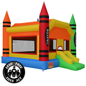 Crayon Theme Bounce House Jumper Castle Bouncer Inflatable Only