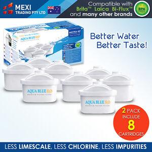 8 x Brita Maxtra Compatible Water Filter Jug Cartridge Four Pack