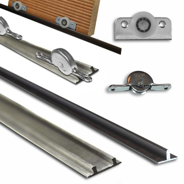 Schiebetürsystem Doppel-oder Einzelschiene für Boden Laufrolle -einzeln oder Set