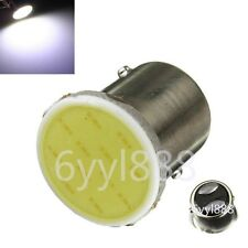 2X White 12V LED 1157 BAY15D S25 P21/5W 12 SMD COB Car Brake Parking Light Bulb
