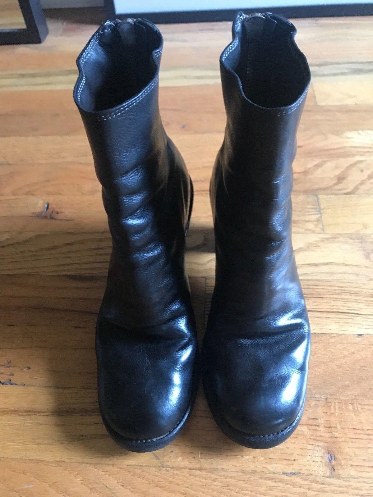 moda Donna Donna Donna  guidi nero leather ankle stivali  risposte rapide