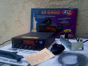 RARE-Poste-radio-cb-cibi-CRT-SS-6900-superstar-AM-FM-CW-USB-LSB-SSB-BLU