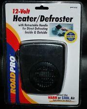 RoadPro RPAT-858 12 Volts Automotive Heater Defroster Fan w Swing-out Handle New