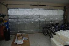 us energy precut 16 panel 2 car garage door insulation kit radiant barrier