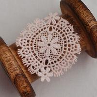 Guipure Lace Motif Applique - 10 Count - Daisy Flower - Vintage Style